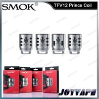 Wholesale Coil Head Smok - Authentic SMOK TFV12 Prince Coil Head X6 Q4 M4 T10 Replacement Coils Core Heads For TFV12 Prince Tank 100% Original From Smotech