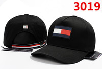 Wholesale baseball caps for women navy resale online - New fashion high quality mesh hat panel baseball cap adjustable hats for men women snabpack Black red navy blue hip hop cap