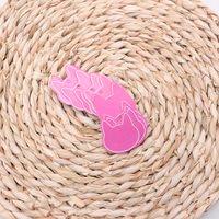 ingrosso gatto rosa caldo-Moda 500 pezzi Hot Pink Paper Cat Orecchino Display Tag Cards Titolare di gioielli Gift Shop Tag Cards NOVITÀ