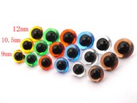 Wholesale toy 9mm for sale - 100pcsx mm mm mm Plastic Safety Eyes Sewing For toy mixed Color