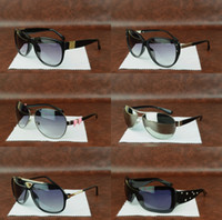 Wholesale Womens Hot Pink Tops - Hot Sale New Top quality Metal Fashion Designer men women Luxury Sunglasses UV400 eyeglasses mens gafas womens retro Masculino good glasses