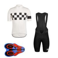 outdoor-trikots großhandel-RAPHA Team Radfahren Short Sleeves Trikot (Latz) Shorts Sleeveless Weste Sets Quick Dry Fahrradkleidung Herren Outdoor 9D Gel Pad F0803