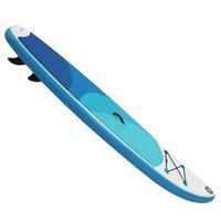 aufblasbare stand up paddle board großhandel-Größere größe 10 Füße 15 CM Dicke Aufblasbare Surfbrett SUP Board Aufstehen Paddle Board Kit mit Sitz
