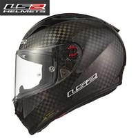 ingrosso ls2 caschi da corsa-100% Genuine LS2 FF323 ultima fibra di carbonio top racing moto integrale casco sportivo auto moto caschi capacetes motociclismo