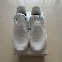 Wholesale Cotton Fabric Japanese - (With Box) 2018 World Blank Canvas NMD Human Race Runner Boost Japanese Runners Trainers NMD Boost Running Shoes Williams Pharrell sneakers