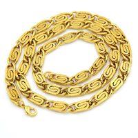Wholesale mens chain necklace link design resale online - Men Hip Hop Gold Necklaces Crude Chains Design Jewelry w quot Chain Filling Pieces Men Fashion Hip Hop Chain Necklace for Mens