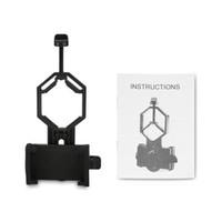 kamerahalterclip großhandel-Mikroskop Astronomische Adapter Clip Binokular Monokulare Spektive Universal Handy Kamera Adapter Halter