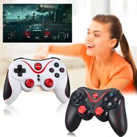 Wholesale android tablet console for sale - Group buy Gen Game S5 Wireless Bluetooth Gamepad Game Controller Handle Remote Joystick For Android Tablet Came Console For SmartPhone