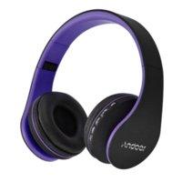 en iyi kablosuz mp3 çalar toptan satış-En Çok Satan Andoer Kablosuz Kulaklıklar Dijital Stereo Bluetooth 4.1 EDR Kulaklık Kart MP3 çalar Kulaklık FM Radyo Müzik için tüm