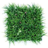 ingrosso erba di prato di plastica-30 * 30 cm Piante Artificiali Prato Turf Planta Erba Artificiale Prati Tappeto Soda Garden Decor Casa Ornamenti Tappeto Erboso di Plastica