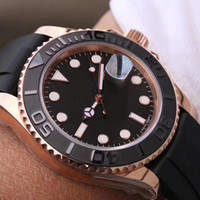 Wholesale men yacht - 2018 New luxury brand yacht AAA master Ceramic Bezel Mens quartz Stainless Steel Movement men Watch Sports mens Watches