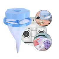 top kafes temizleme toptan satış-Çiçek Şekli Örgü Filtre Torbası Çamaşır Topu Yüzen Tarzı Çamaşır Makinesi Filtrasyon Epilasyon Cihazı Ev Temizlik Araçları
