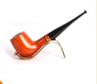 Wholesale briar wood resale online - Import briar wood pipe manual pipe smoking accessories
