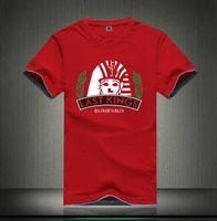 hızlı kuru tişörtler kadınlar toptan satış-S-5xl Ücretsiz Kargo En Satış Toptan son kral Hızlı Kuru Erkek Kadın Aşıklar Siyah Renk Moda Tee T-Shirt