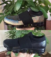 Wholesale Rainbow Shoes Sale - HOT SALE WITH 2018 New Vapormax Rainbow BE TRUE Gold White Red Pink Women Men Designer Running Shoes Sneakers Casual Shoes