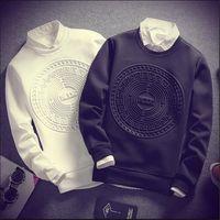 männer cool trainingsanzug großhandel-2018 neue Mode Sind Druck Männer Hoodies Sweatshirt Coole Pullover Hoodies Männer Sweatshirts Trainingsanzug Männer Hoodie M-5XL