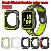 Wholesale apple watch case for sale - Soft TPU Protection full silicone case For Apple watches protective case iwatch protective cover with opp package