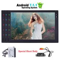 Wholesale Mobile Camera Kit - Rear Camera+EinCar Android 7.1 Quad Core Car Stereo Bluetooth Autoradio Video audio Player Double Din Car Radio GPS Navigation Head Unit
