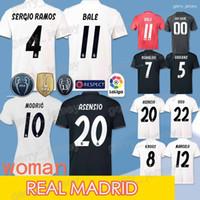 sergio ramos jersey al por mayor-Camiseta 18/19 del Real Madrid de fútbol ASENSIO ISCO sergio ramos camiseta de fútbol BENZEMA MODRIC VINICIUS JR