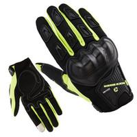 мотокросс грязевые перчатки оптовых-ROCK BIKER Мужские перчатки для мотоциклистов Dain Luva Мотокросс с сенсорным экраном Guantes Moto Gloves Full Finger Воздухопроницаемый велосипед для езды на велосипеде MX