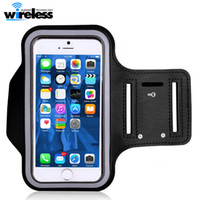 Wholesale Universal Armbands - Water Resistant Cell Phone Armband case Sports Running Gym Case Waterproof Armband Holder For iphone x 8 samsung s9 s8