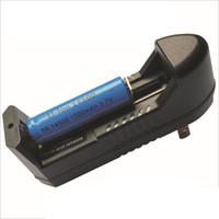 ingrosso carica batteria 7.4v-Caricabatteria universale agli ioni di litio 3.7V 26650 18650 18350 Batteria ricaricabile al litio 16340 US / EU Spina per kit sigaretta elettronica