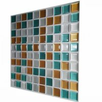 мозаичные клеи оптовых-Wholesale-Wootile Peel and stick mosaic wall tile  Adhesive tiles Environment Friendly and Water Resistant wall kitchen tile