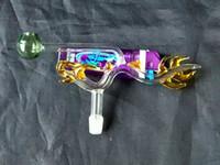 tubos de água de vidro dragão venda por atacado-Pote de dragão Bongos De Vidro Por Atacado Queimador De Óleo De Vidro Tubulações De Água Plataformas De Petróleo Fumantes Livre