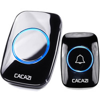 Wholesale doorbell buttons for sale - Group buy A10 CACAZI Waterproof Wireless Doorbell Ring Remote home smart Door Bell V V button receiver SET