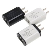 Wholesale sumsung chargers for sale – best Good top quality Dual USB Charger in1 V A AC us wall power adapter charging charger for sumsung for huawei Xiaomi