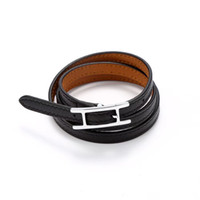 2018! Hot! Around three times !The leather bangle are not ordinary leather.It has 7 leather colors . The style is for prevailing instagram.