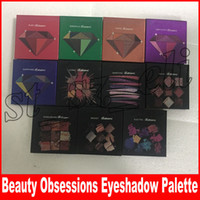 Wholesale warm eyeshadow for sale - Group buy Makeup Eyeshadow Palette Obsessions colors SMOKEY MAUVE ELECTRIC WARM BROWN Gemstone Coral Topaz Amethyst Ruby Emerald Sapphire types