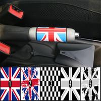 Wholesale mini cooper stickers - Car stickers wholesale Personalized handbrake stickers For BMW MINI COOPER Countryman