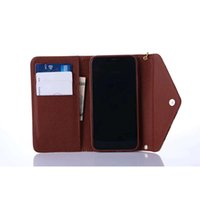 Wholesale acer iconia tablet inch online - Fashion Brand Wallet Flip PU Leather Case For iphone X plus plus plus S Card Pocket Cover with lanyard