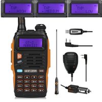 Wholesale baofeng programming cables for sale – best Baofeng GT TP Mark III Kit W High Power VHF UHF Two Way Radio Walkie Talkie Transciver with Speaker USB Programming Cable