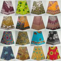 Wholesale Needle Punch Fabric - Tradtional African wax fabric,African Wax Print Fabric holland Wax Cotton Fabric ankara 6 yards whole