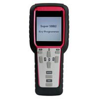 novo programador chave venda por atacado-Nova Geração Super SBB2 Programador Chave com Multifunções IMMO Odômetro Ajuste do Óleo Reset TPMS EPS Handheld Scanner