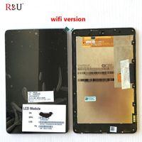 ingrosso telaio di visualizzazione nexus-Schermo LCD RU con gruppo digitalizzatore touch screen con cornice per ASUS Google Nexus 7 1st GEN 2012 ME370T ME370 ME370TG