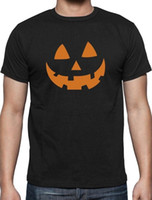 halloween lanterns pumpkin 2018 - Orange Jack O' Lantern Pumpkin Face Halloween Costume T-Shirt Funny Funny free shipping Unisex Casual tee gift