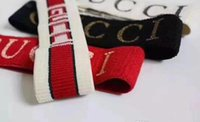 Wholesale gift trends - hair band with European and American trend letter embroidery movement head with men and women with the head of the fashion.5592