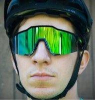 bisiklet sporu gözlükleri toptan satış-Yüksek kaliteli Bisiklet Gözlük Açık Spor Gözlük Rüzgar Bisiklet moda gözlük erkekler için yeni spor LJJF008