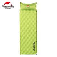 randonnée tapis de couchage achat en gros de-Matelas de camping Naturehike en forme d'oeuf Matelas de randonnée NH gonflable automatique Matelas de sol extérieur Matelas de couchage portable
