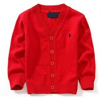 Wholesale high kids clothes for sale - Group buy New Children s Top Clothes Brand Cotton Baby Sweater High Quality Kids Outerwear Girl Sweater Boy Sweater V neck Polo Sweaters