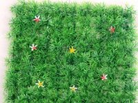 Wholesale artificial plastic topiary plants for sale - New arrival Artificial plastic boxwood mat topiary tree Grass Lawn for garden home wedding decoration