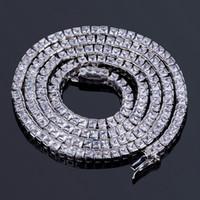 ingrosso bling collane di nozze-Collana a forma di ciondolo da sposa con catena lunga a forma di CZ Bling da 20