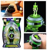 kraft spielzeug großhandel-Ben10 10 Alien Force Projektor Uhr Ultimate Omnitrix Armband Anti Stress Spielzeug Armbanduhr