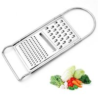 Wholesale fruit accessories resale online - Manual Vegetable Fruit Cutter Household Multi Function Stainless Steel Potato Grater Kitchen Tool Accessories High Quality bz C
