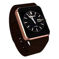 relógio de telefone inteligente 3g venda por atacado-3G smart watch qw08 android 4.4 1.54 polegada sim relógio telefone 512 mb + 4 gb bluetooth mtk6572 smartwatch 10 pçs / lote