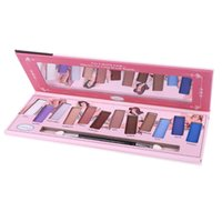 косметика для девочек красоты оптовых-12 Colors Metal Liquid Eyeshadow Glitter Eye Shadow Liquid Shimmer Stick Beauty Tool Korea Cosmetic Gift For Girl c716