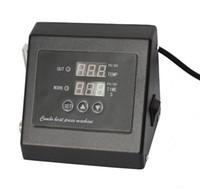 ingrosso regolatore di riscaldamento digitale-Nuovo design Doppio display110V / 220v pressa di calore digitale Regolatore di temperatura per pressa di calore